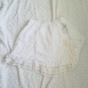 NWT Old Navy gauzy boho cotton skirt